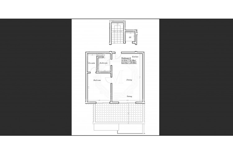1 Bedroom Penthouse For Sale