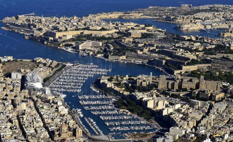 Msida-MarinaAerialView