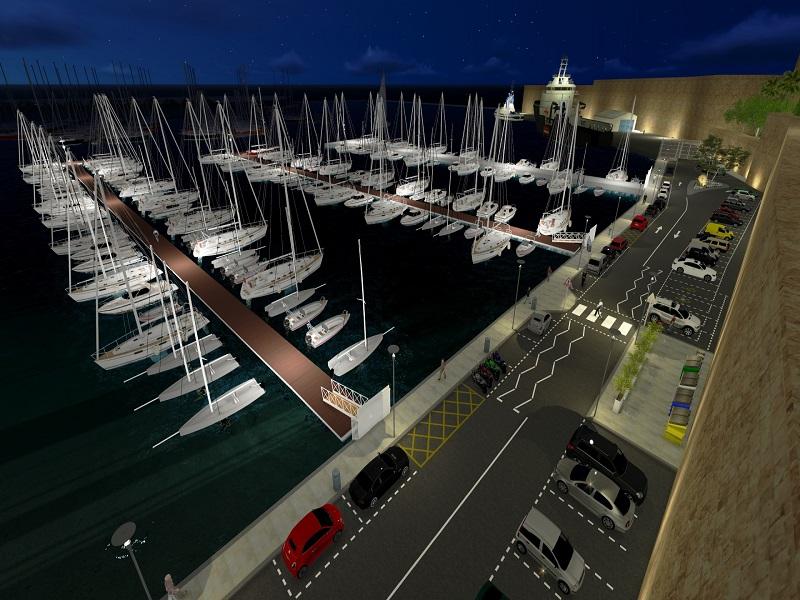 New Marina, Sa Maison
