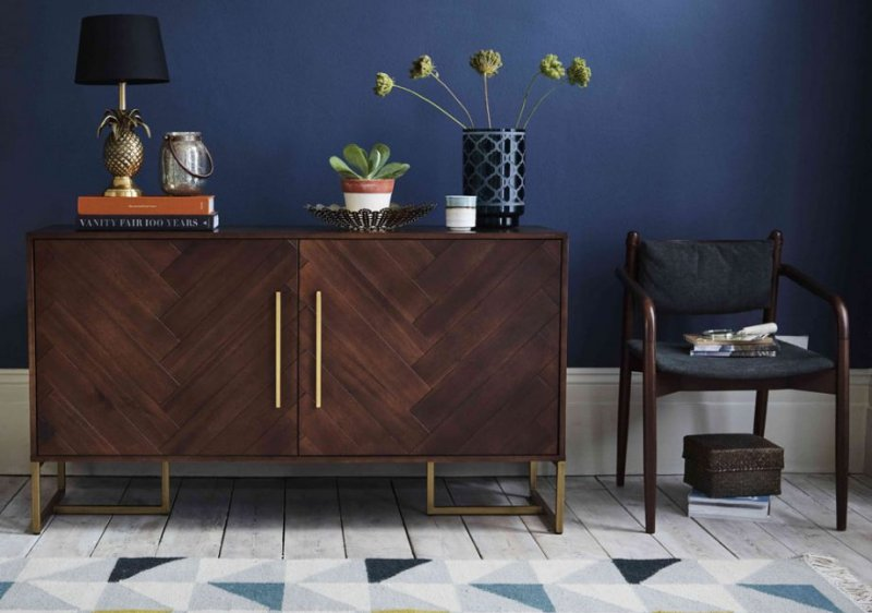 home-trends-2018-retro-glam-dark-wood